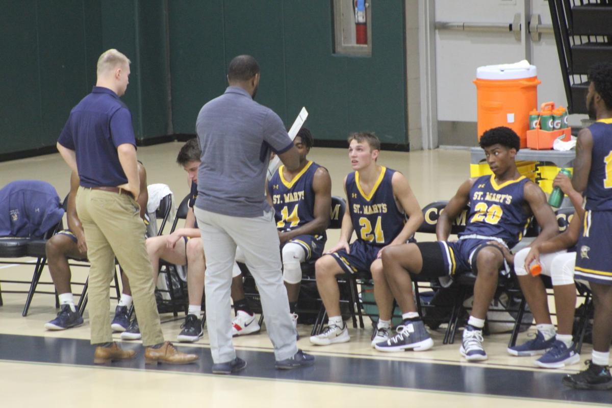 St. Mary's College JV men's basketball