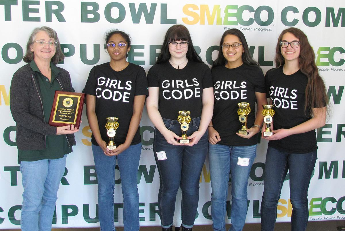 Great Mills High teams win at computer bowl