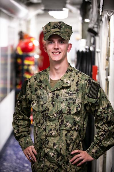 Patuxent River native serves aboard advanced U.S. Navy warship half A world away