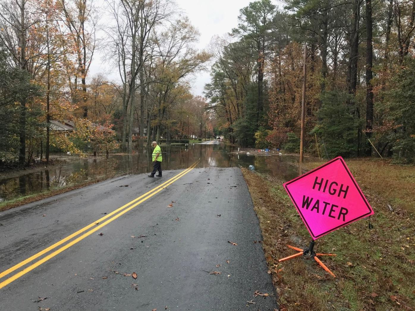 Flooding on Maypole Road