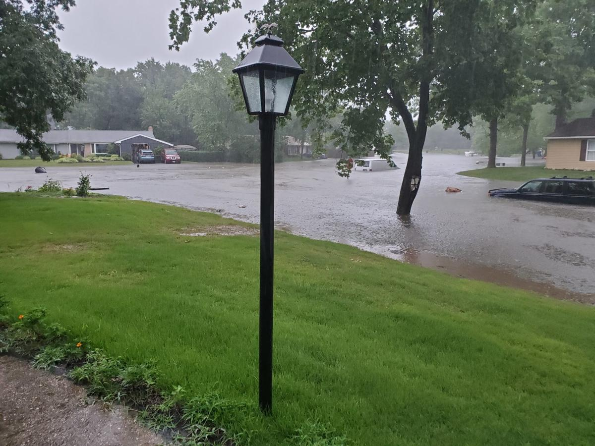Heavy rains cause flash flooding in Charles County