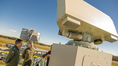 Navy demonstrates new shipboard air traffic control radar