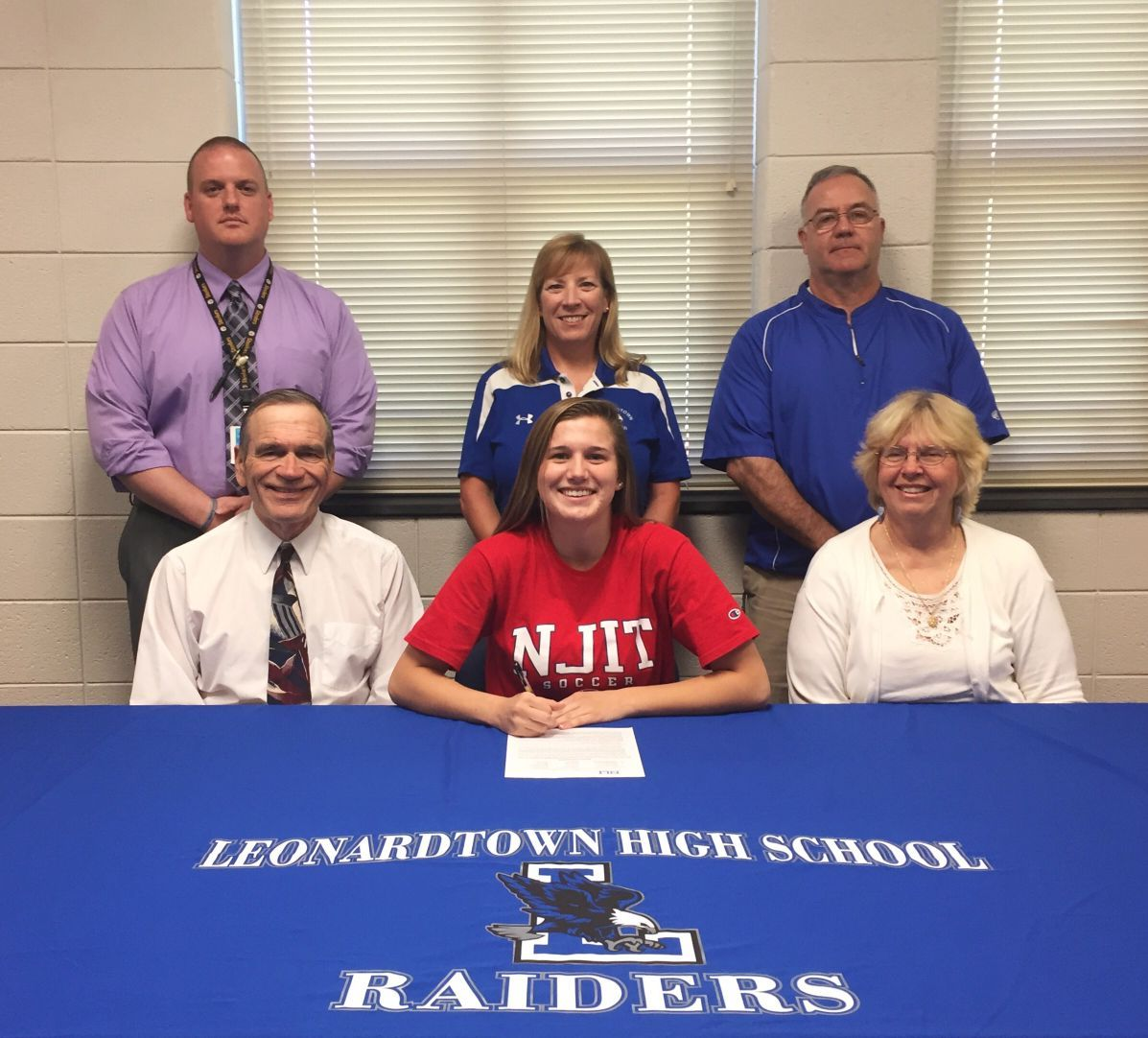 how to write a letter of intent leonardtown senior wolfe signs with new jersey institute 1312