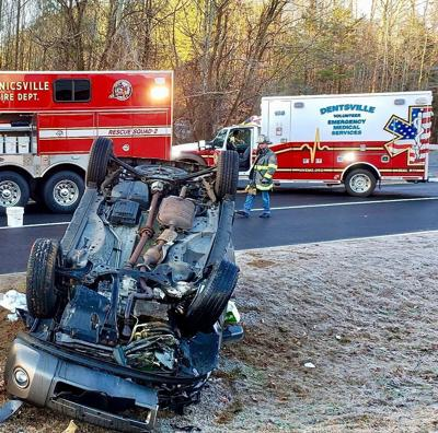 Two injured in Mechanicsville accident