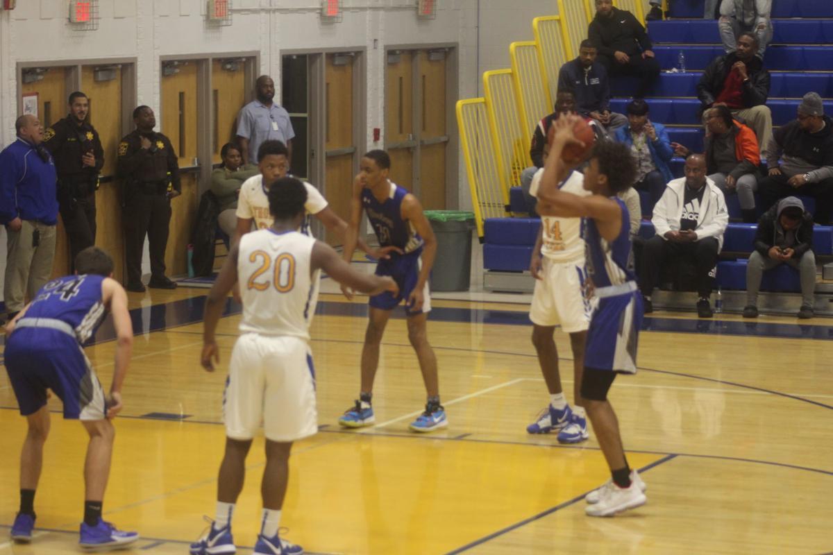 Darran Johnson (Lackey boys basketball)