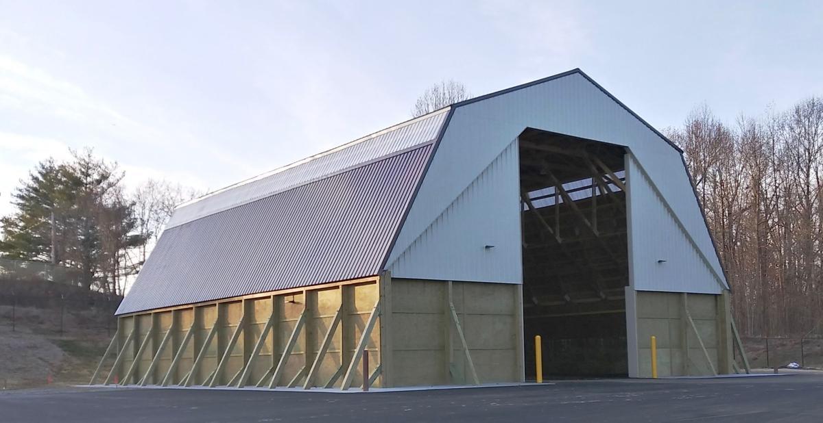 Pushaw Station Road salt barn