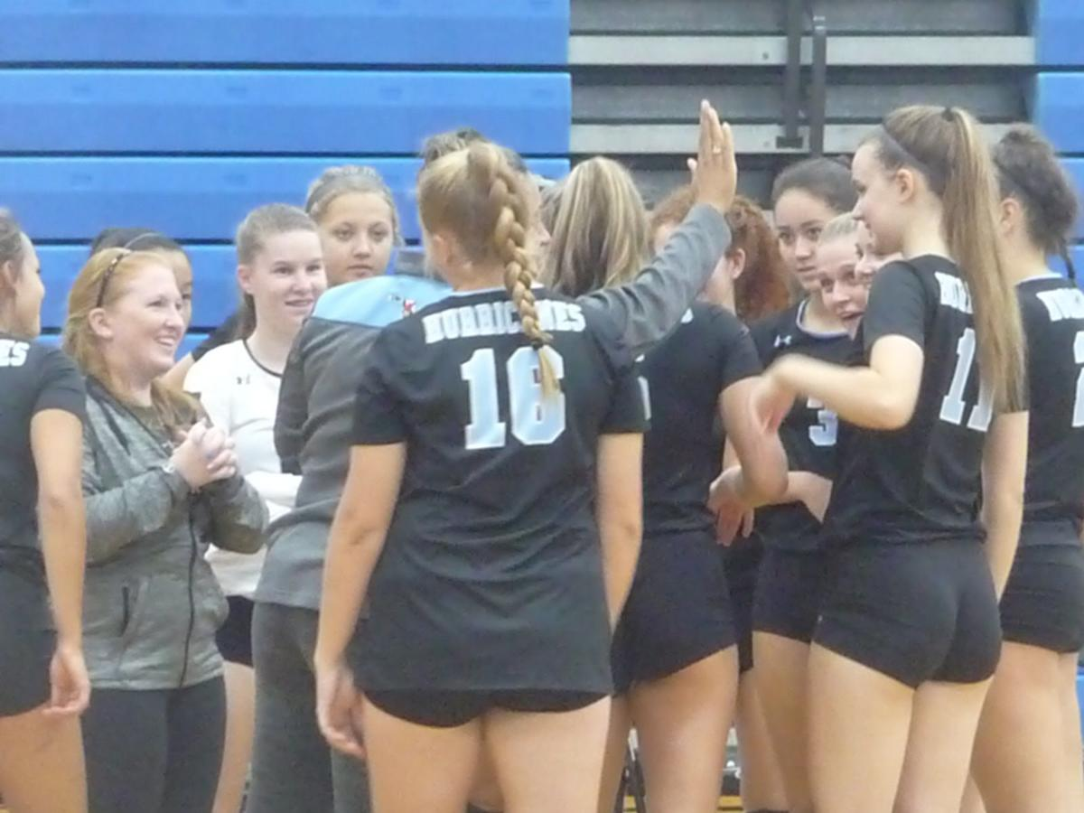 Kelsey Richards (Huntingtown head volleyball coach)