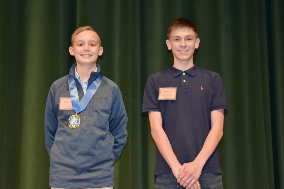 Winners announced from St. Mary's science fair
