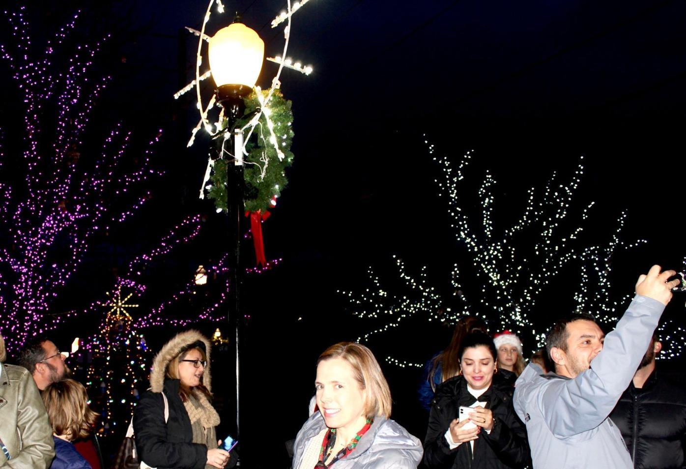 Chesapeake Beach Christmas lights