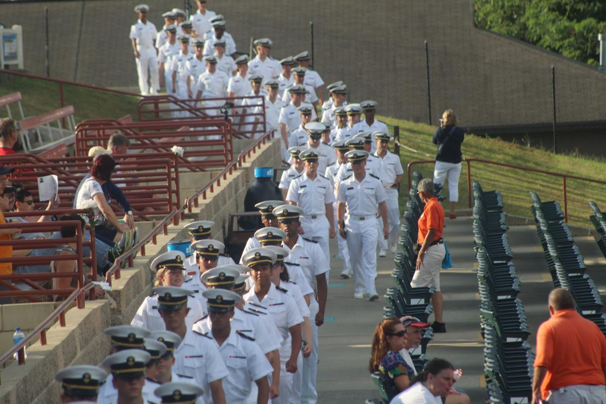 Baysox home stand includes Navy plebe night