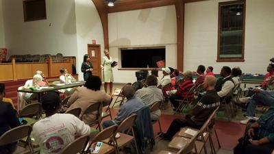 Prince George's County state's attorney guest speaks at civic association meeting