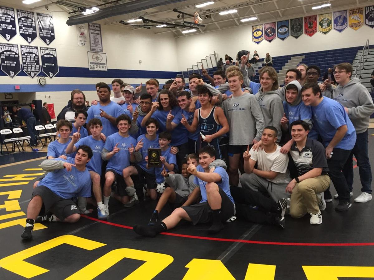 La Plata wrestling 2A South Region duals champions