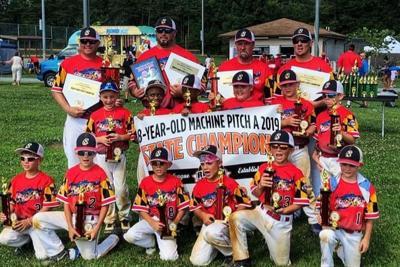 CCYL 8-U baseball team wins state championship, headed to