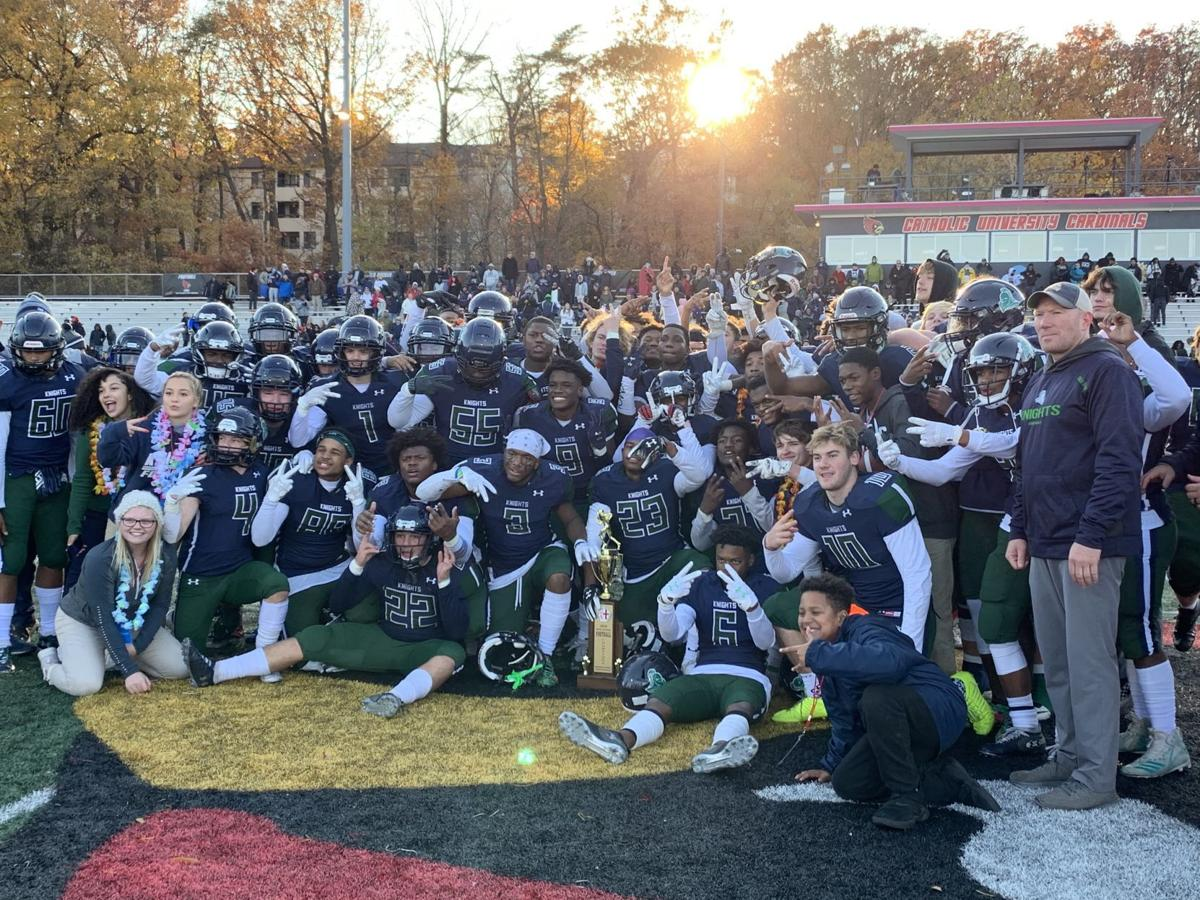 St. Mary's Ryken 2019 WCAC Metro Division champions