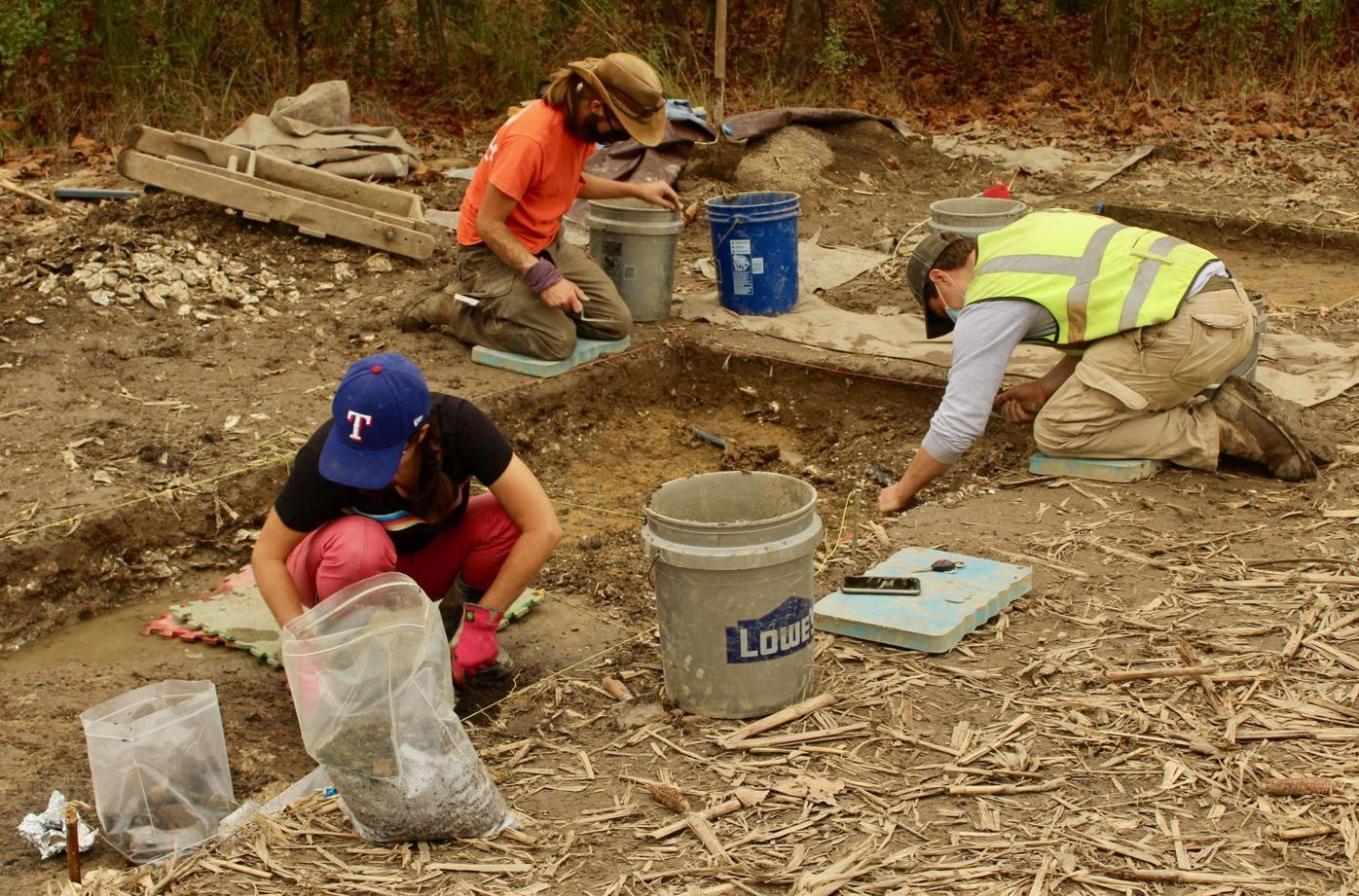 Digging up artifacts