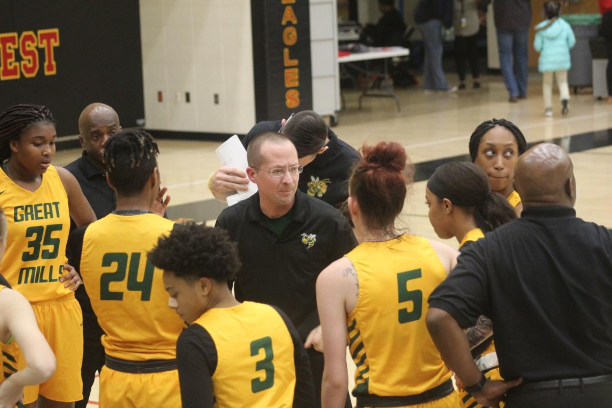Matt Wood (Great Mills head girls basketball coach)