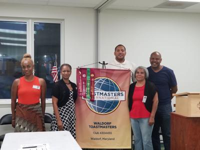 Toastmasters installs officers