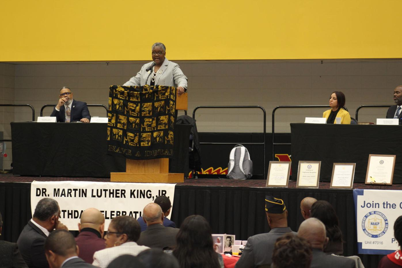 Hundreds gather at prayer breakfast to honor life, legacy of Martin Luther King Jr.