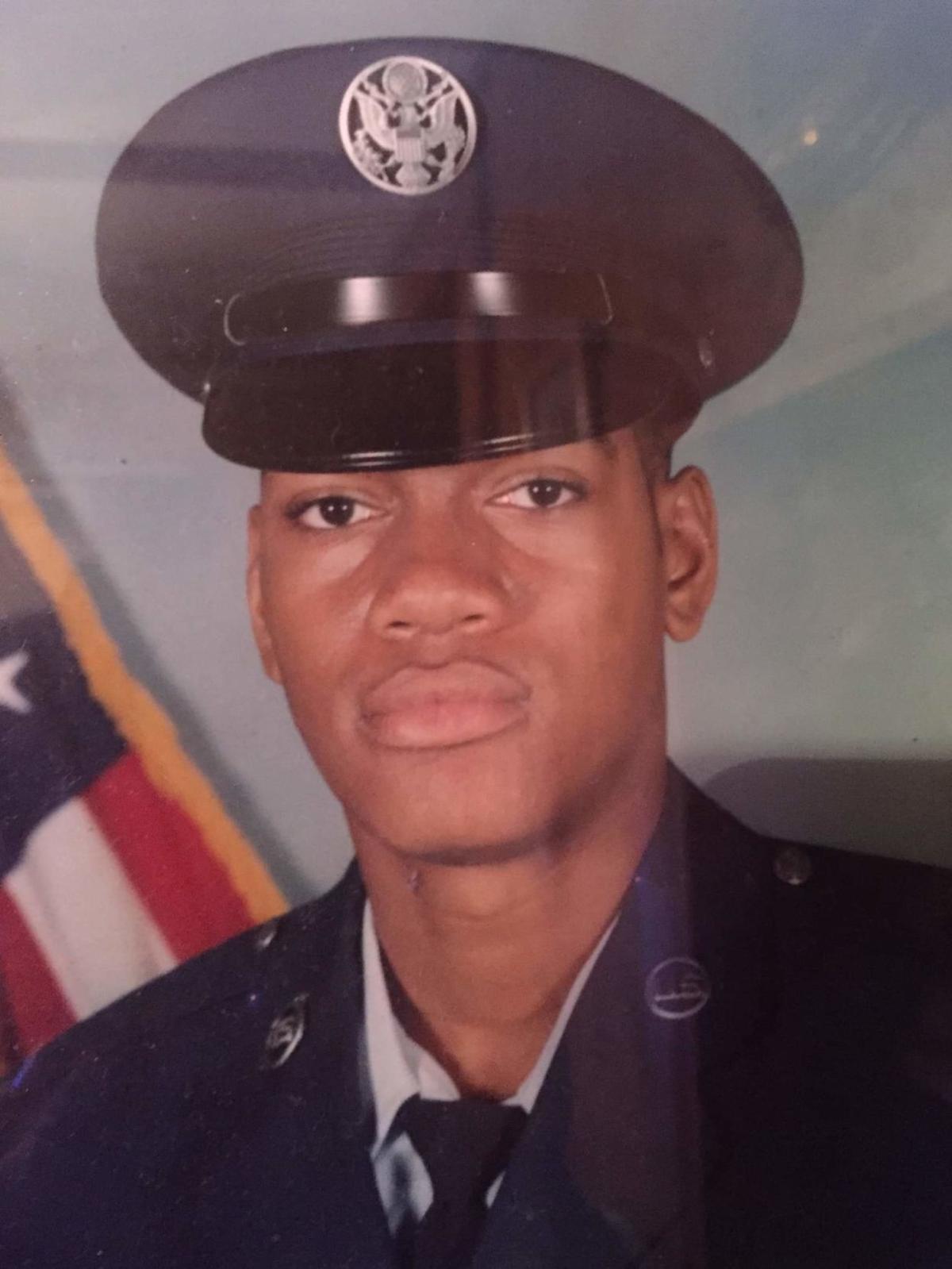 Antoine White in the USAF