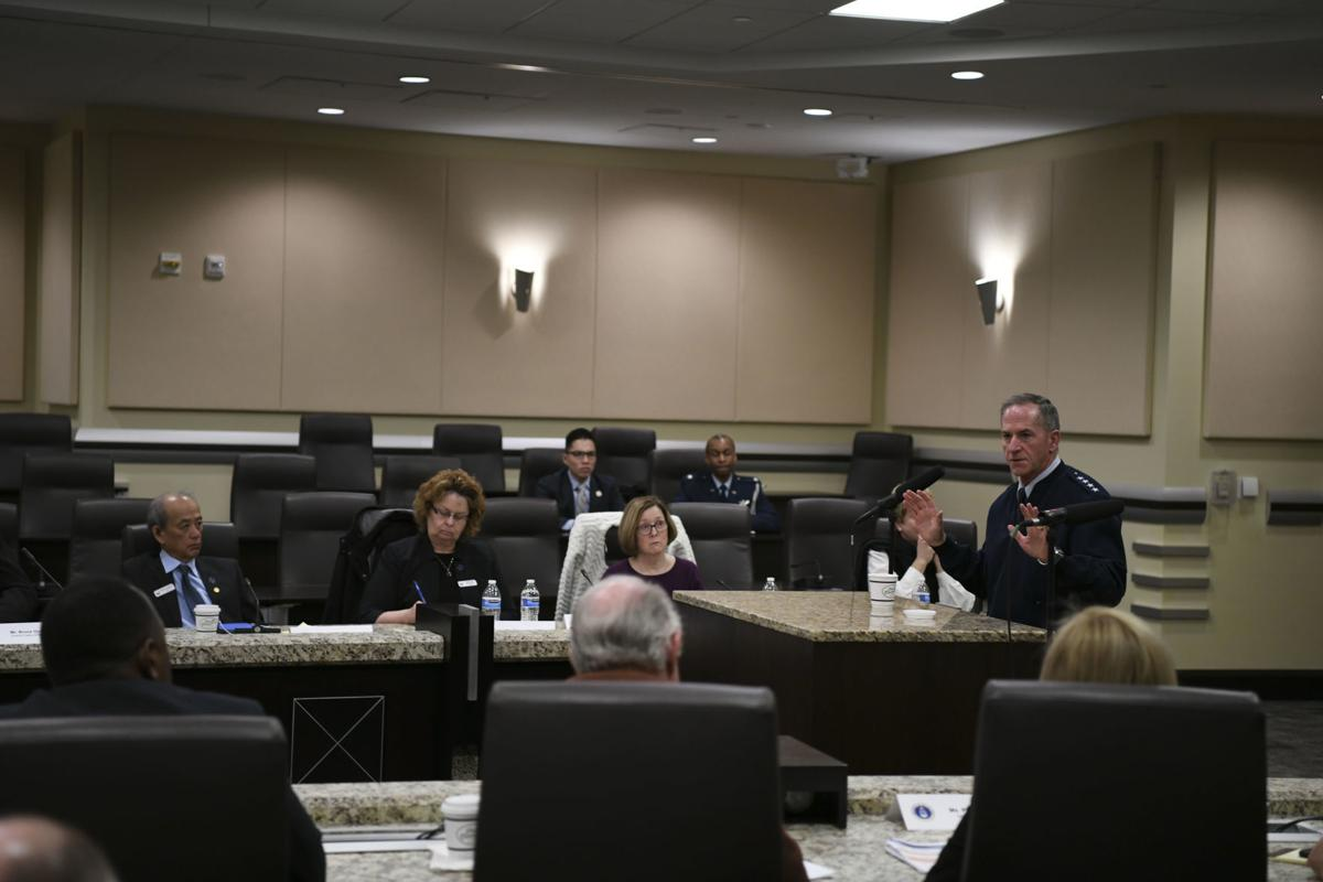 Goldfein speaks at Air Force Civic Leader Conference
