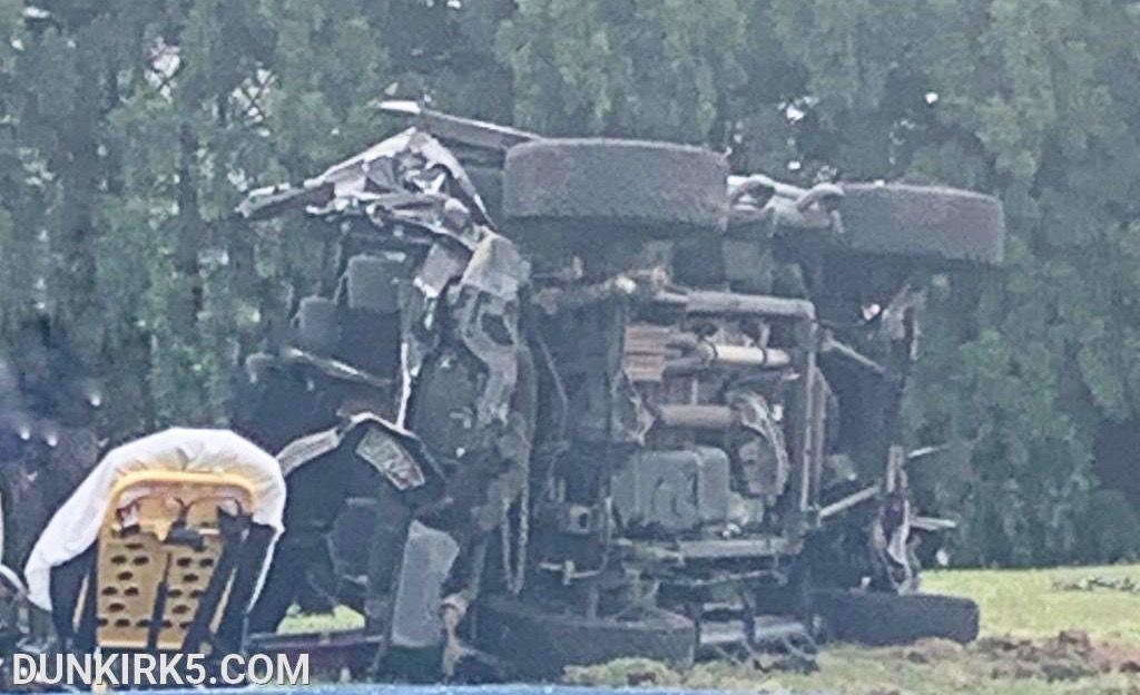 Two die in single-vehicle crash