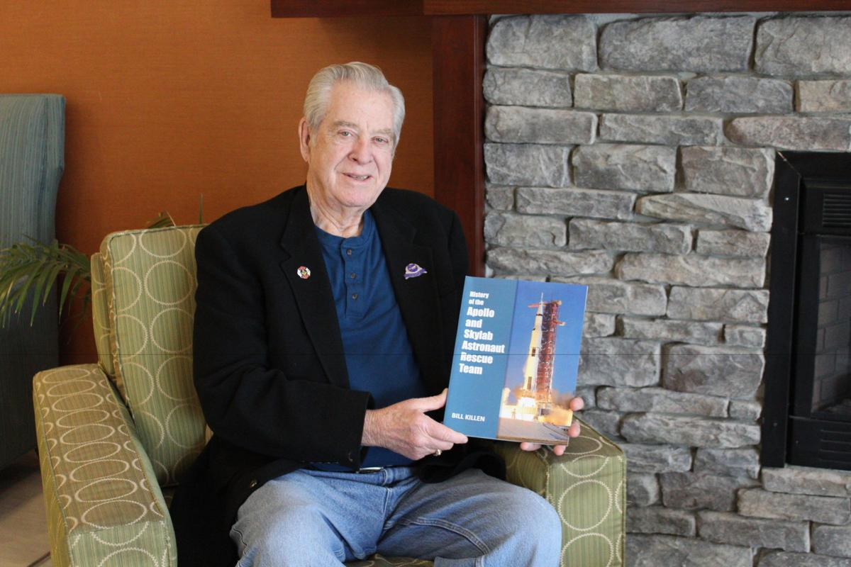 Longtime firefighter publishes book on NASA astronaut rescue team