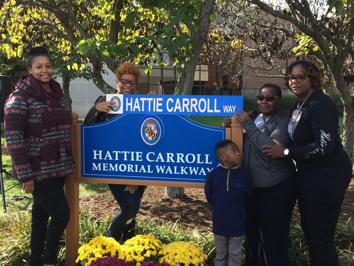 County Commissioners dedicate sidewalk to victim of hate crime