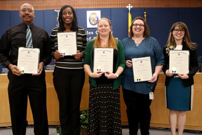 Charles County school board honors staff for contributions