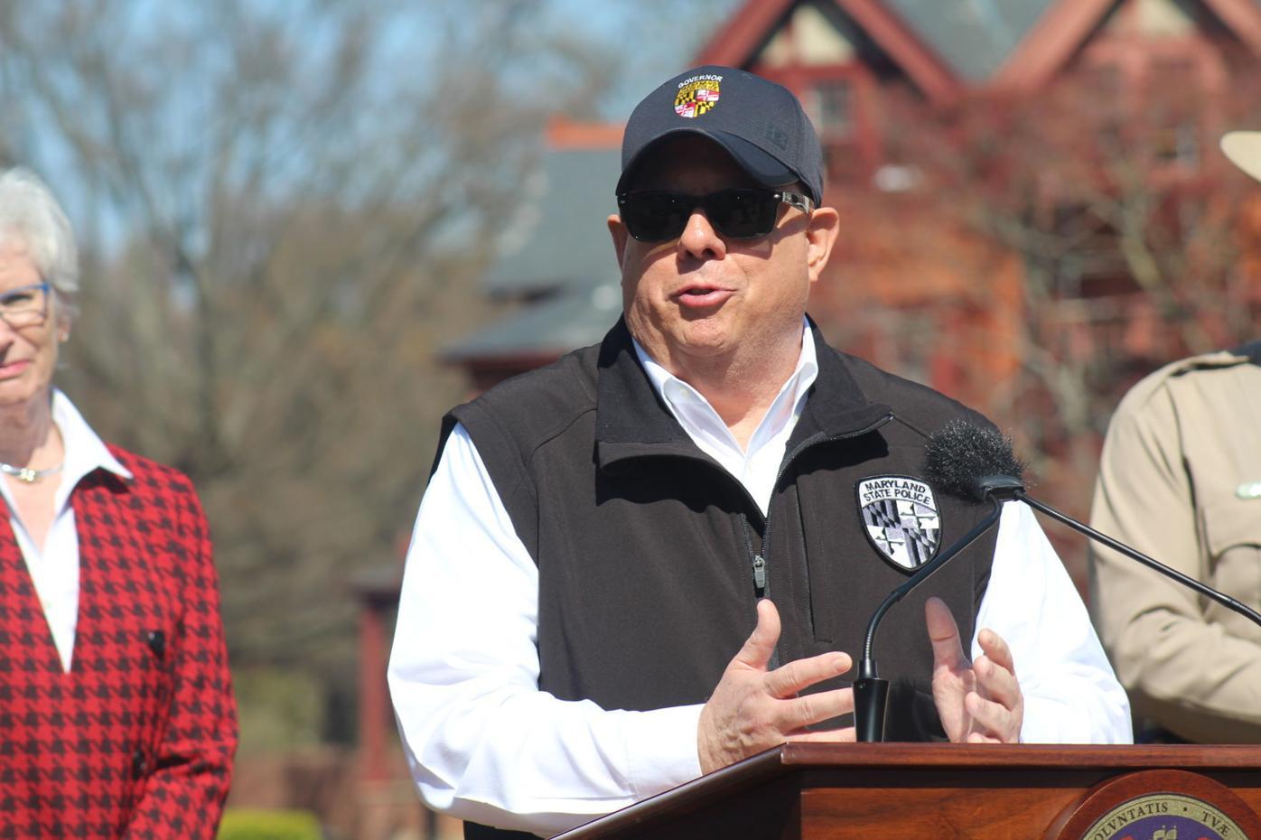 Hogan orders Marylanders to stay home as virus spreads