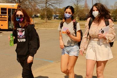 Students dismissed after day of hybrid instruction