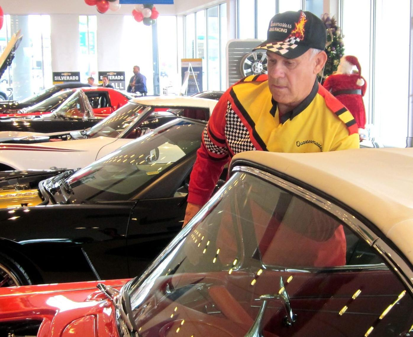 Classic Corvettes draw fans to Waldorf dealership
