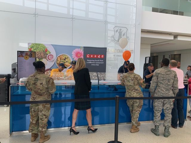 New lunch services at National Guard Readiness Center