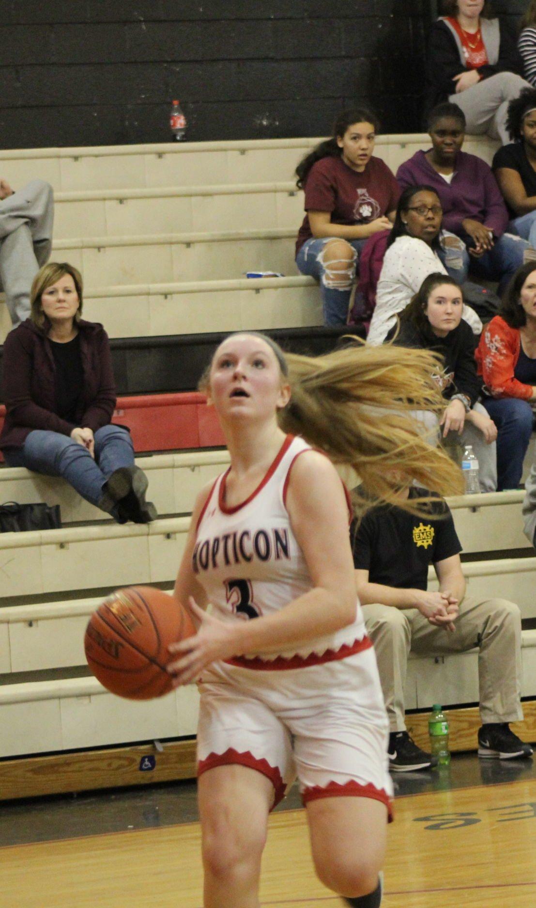 Caleigh Bergling (Chopticon girls basketball)