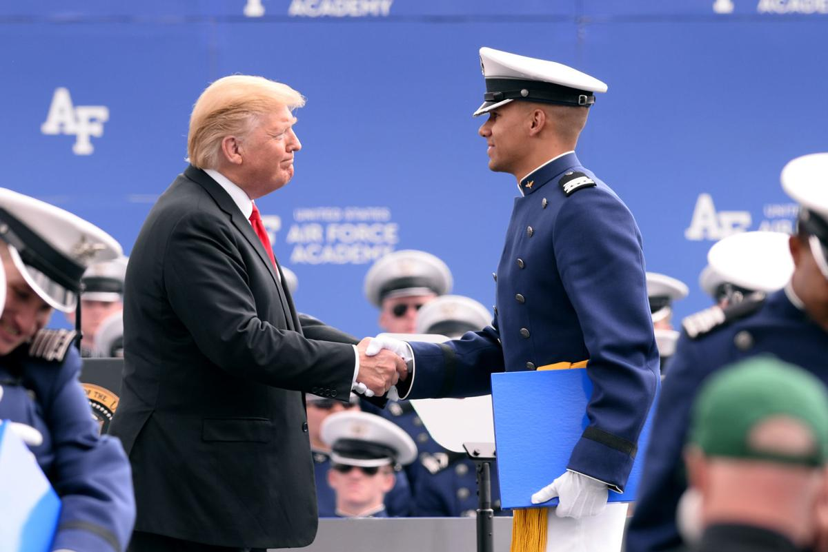 Trump says mission of Academy grads vital to keeping U.S. safe