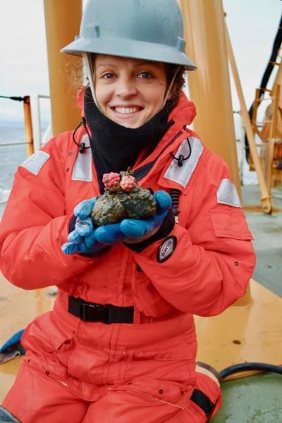 Wegner receives prestigious graduate award for Arctic research