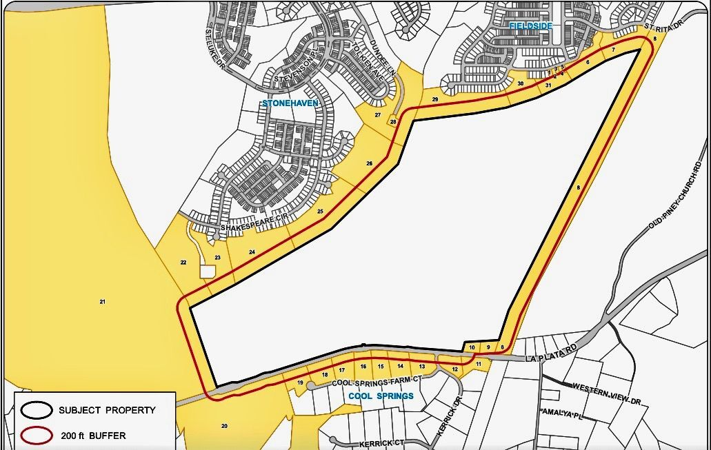 Village of Wooded Glen conceptual site plan
