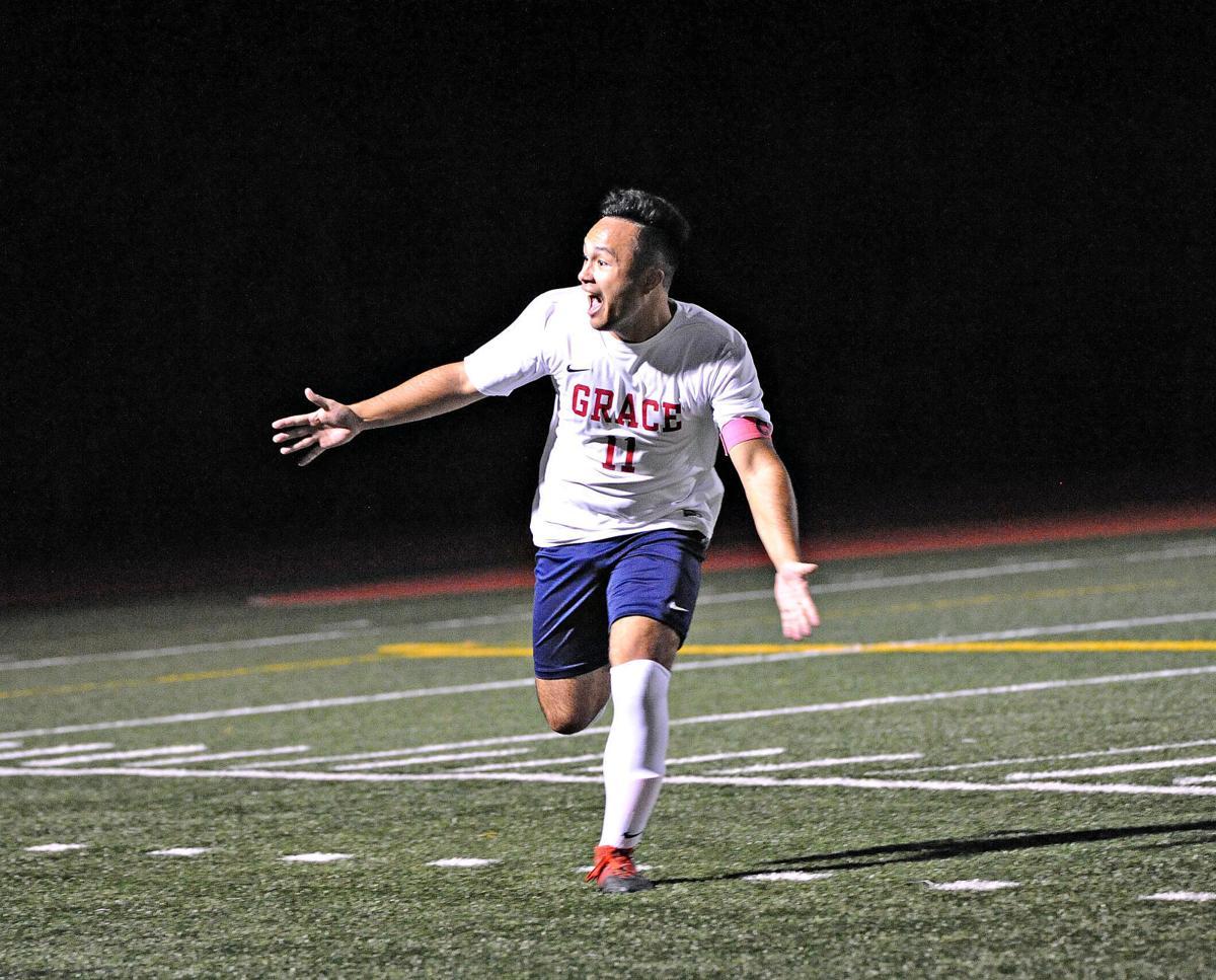 Zach Wittlinger (Grace Christian boys soccer)