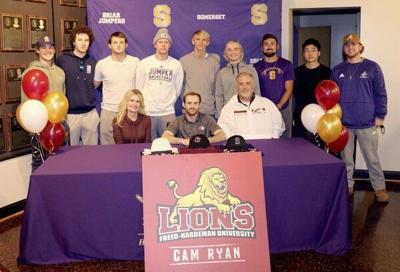Cam Ryan signs with Freed-Hardeman University