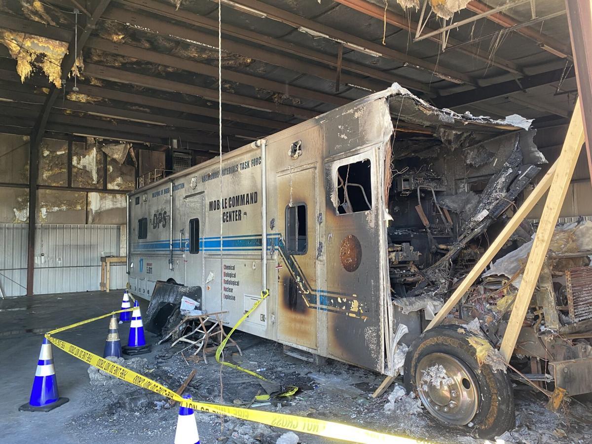 SRT fire damage