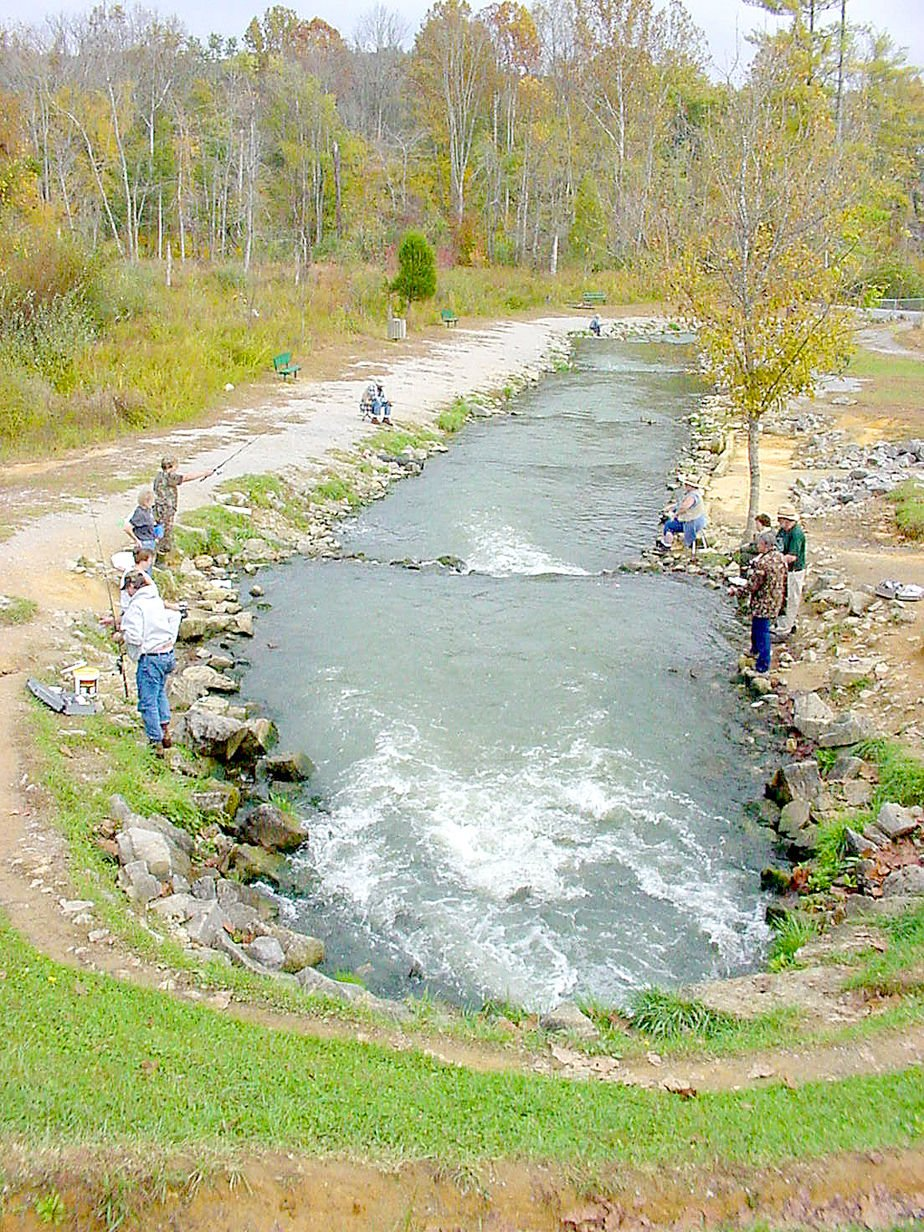 Hatchery creek groundbreaking slated for friday local for Fish hatchery ky