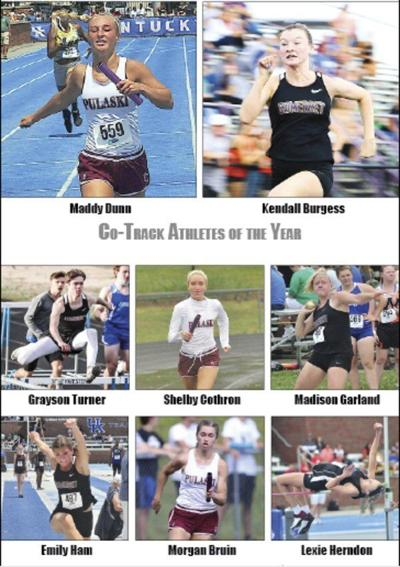 Kendall Burgess, Maddy Dunn named Track Athletes of the Year