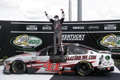 Cole Custernabs first NASCAR win at Kentucky's Quaker State 400