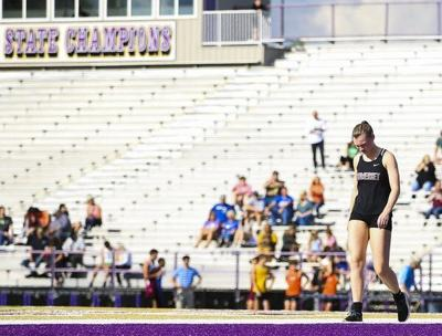 A Shooting Star: Kendall Burgess finishes out a brilliant Lady Jumpers track & field career