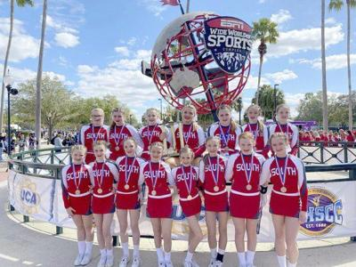 South Code Red cheerleaders are National Runner-ups