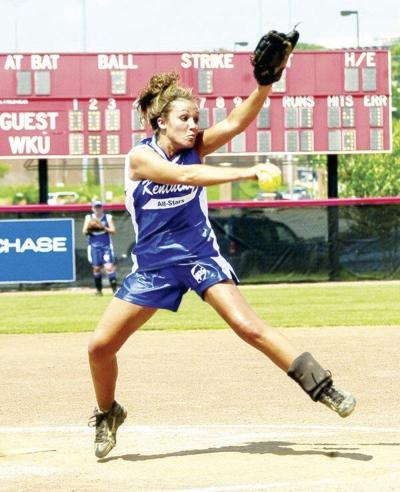 Jessica Woodall inducted into Softball Hall of Fame