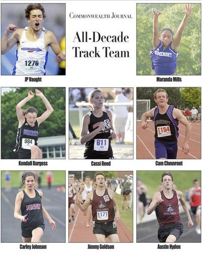 Track's best local athletes over the past 10 years