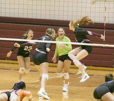 Lady Maroons win five-set volleyball thriller