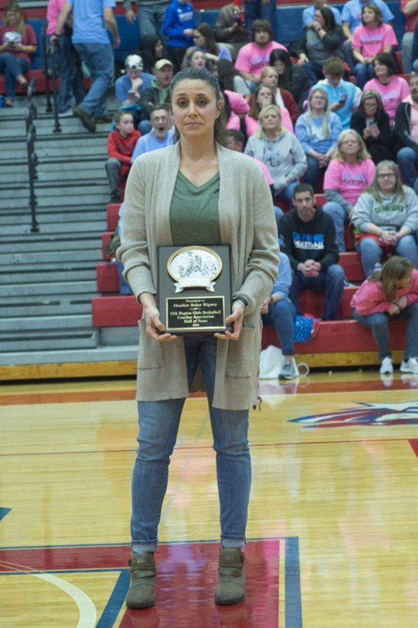 Three local female players inducted into 12th Region Hallof Fame