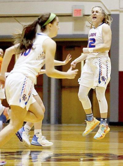 On to the finals: Lady Warriors rain threes on Danville to make second 12th Region Championship game in three years