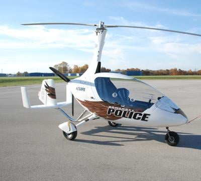 SPD to patrol skies in its own gyroplane | News | somerset